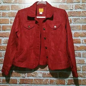 Ruby Red Jacket